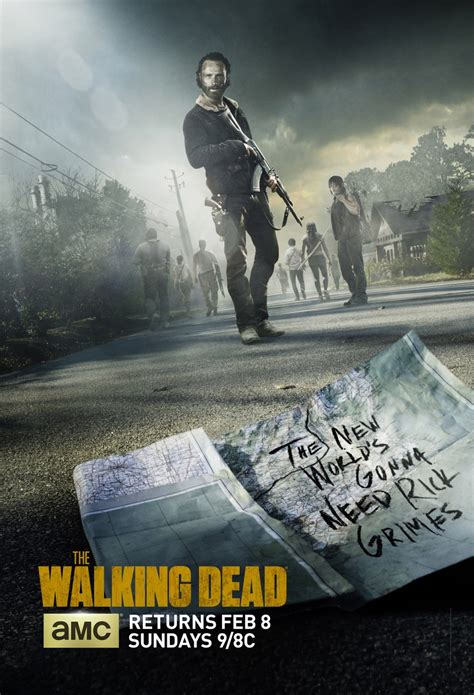 Calendrier Walking Dead Photo The Walking Dead Posters Saison 5 Series Addict