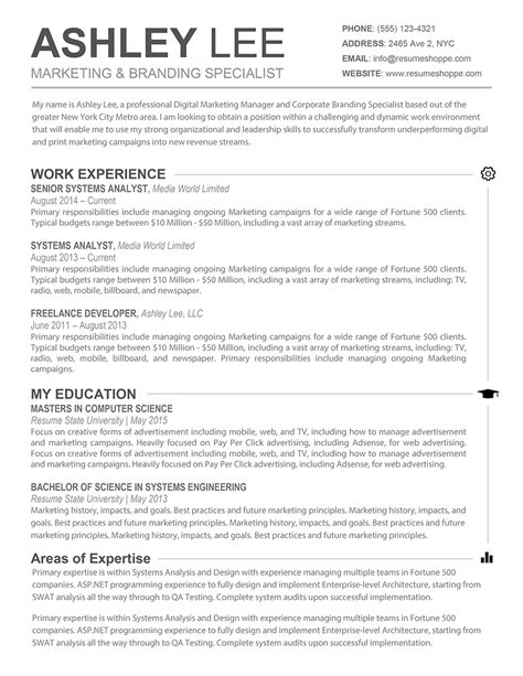 results driven resume exle results oriented resume resume ideas