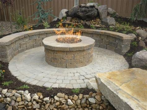 fire pit glass stones fire pit ideas