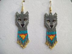 wolf beaded bookmark the world s catalog of ideas