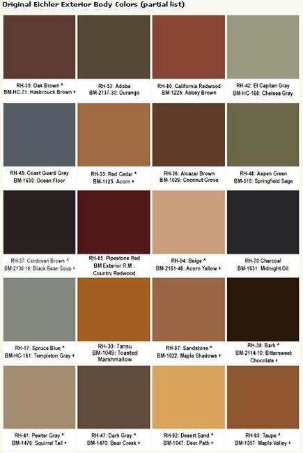 paint colors shades of brown guide to selecting mid century modern colors for