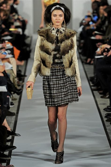New York Fashion Week Oscar De La Renta by New York Fashion Week Oscar De La Renta Fall Winter