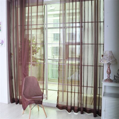 colorful curtains colorful door window voile curtain drape panels sheer