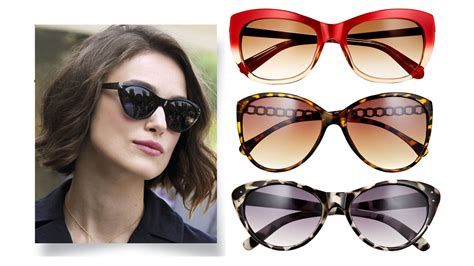 hairstyles for cat eye glasses best sunglasses for face shape sunglass shapes that