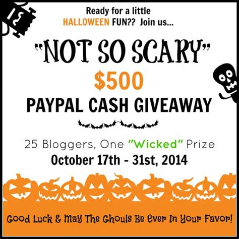 Halloween Giveaways Not Candy - quot not so scary quot halloween giveaway real housemoms