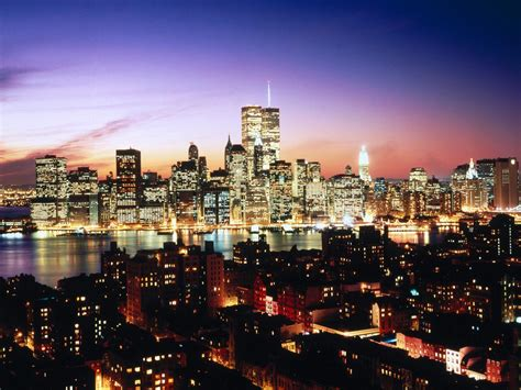 From Manhattan With lower manhattan as seen heights new york