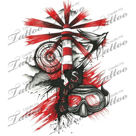 trash polka tattoo ideas and trash polka