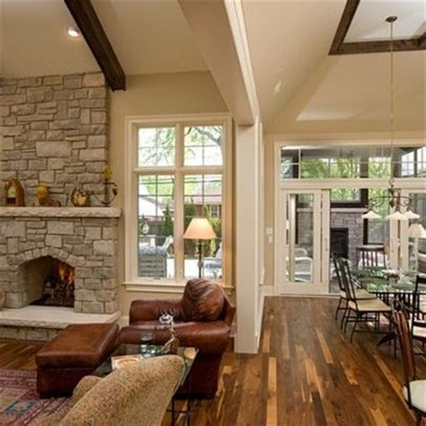 open concept kitchen and family room   7,438 sunken living
