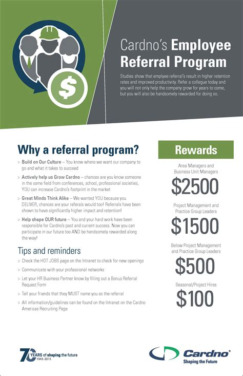 employee referral program flyer pictures to pin on