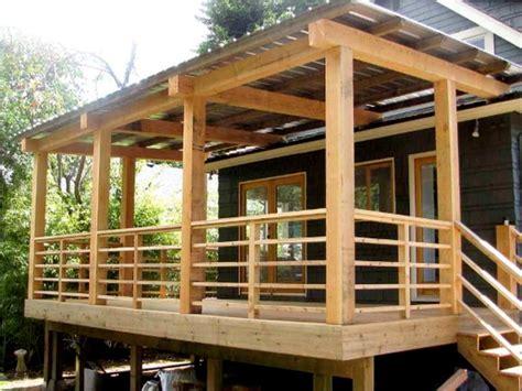simple helpful porch railing ideas http www
