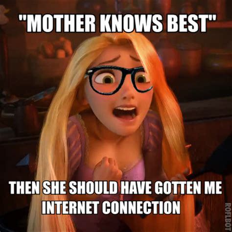 Tangled Meme - hipster rapunzel on tumblr
