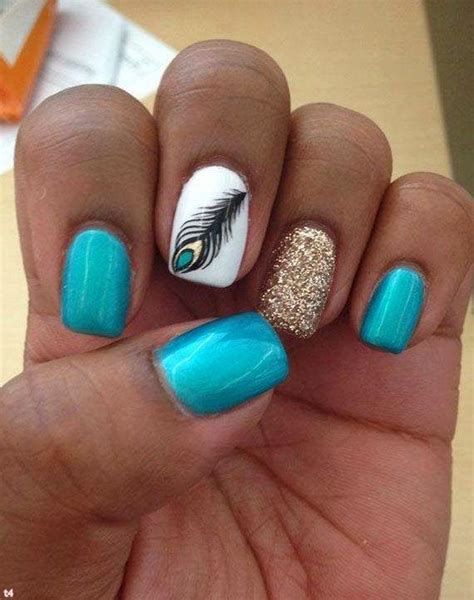 easy nail art gold cute and easy nail designs 2014 turquoise silver glitter
