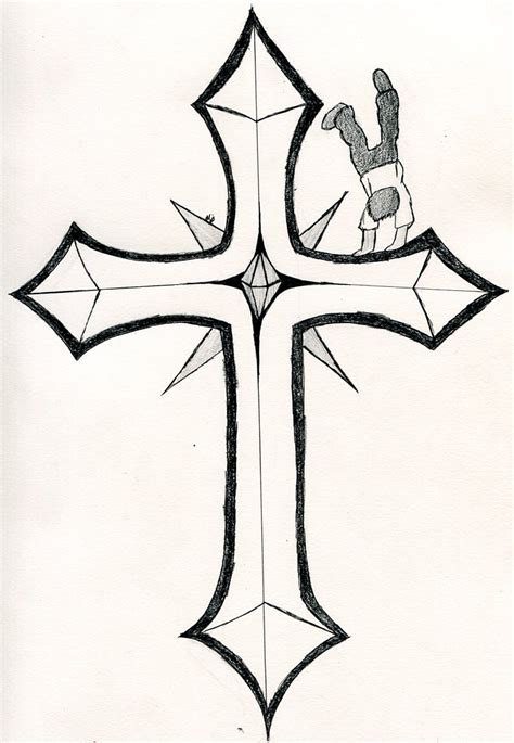 awesome cross tattoo designs awesome drawings of crosses drawing arts sketch