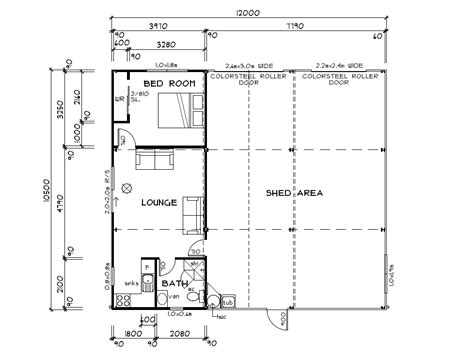 Shed Homes Floor Plans by Habitable Sheds Sheds You Can Live In Architectural Design