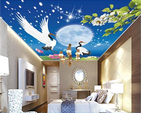 Lukisan Burung Custom buy grosir ceiling cranes from china ceiling cranes penjual aliexpress alibaba