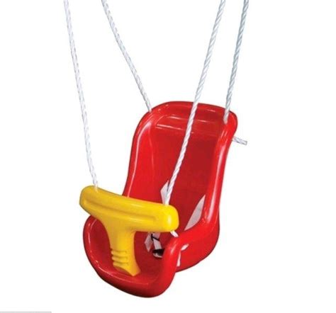 plastic swing seat high back plastic swing go and play playgrounds