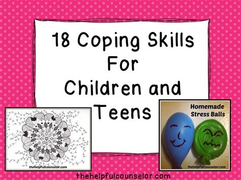 to one coping strategies for a single parent with books 18 coping skills strategies for children and the