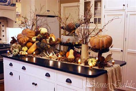 cucina autunnale decorazione cucina 35 idee per una decorazione autunnale