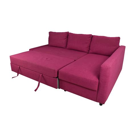 pink sofa bed 66 off ikea ikea friheten pink sleeper sofa sofas