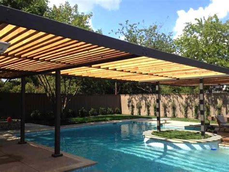 cover your swimming pool with luxury pool pergolas gazebo ideas