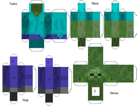 Minecraft Papercraft New - paper craft new 903 minecraft papercraft pigman