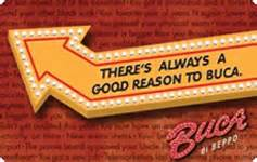 Buca Di Beppo Gift Card Balance - restaurant gift cards save up to 30 off