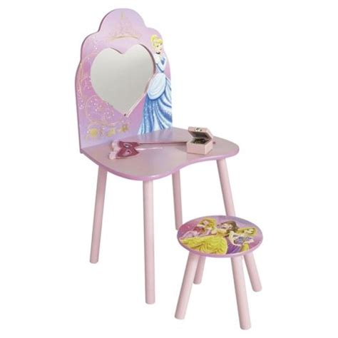 buy disney princess dressing table and stool from our kids desks tables range tesco