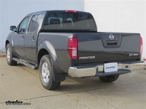 installation of a trailer hitch on a 2012 nissan frontier
