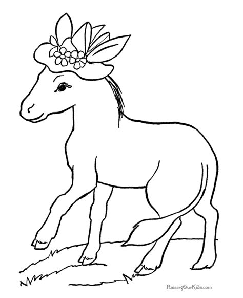 coloring pages animals horses animal coloring sheets horses 036
