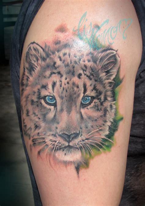 leopard tattoo 10 all time best leopard tattoos