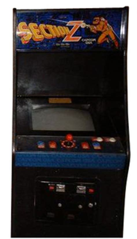 Section Z Arcade by Section Z Videogame By Capcom