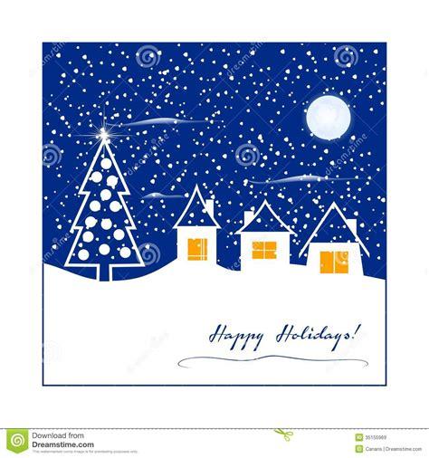 winter greeting card stock illustration illustration  white
