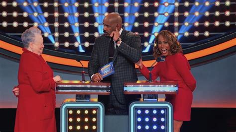what is celebrity family feud marjorie would swap steve for what celebrity family