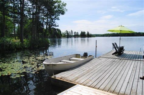 Cottage Docks by Ontario Cottage Rentals Northern Comfort Cottage