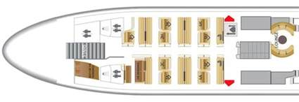 One Bedroom Cabin Floor Plans etihad a380 first class apartment overview point hacks