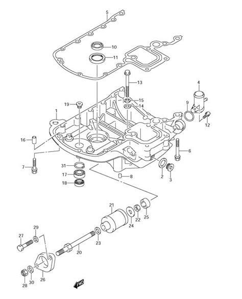 Fig 38 Engine Holder Suzuki Df 90 Parts Listings S
