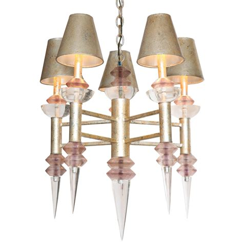 Teal Chandelier Chandelier By Hiro Teal For Sale At 1stdibs