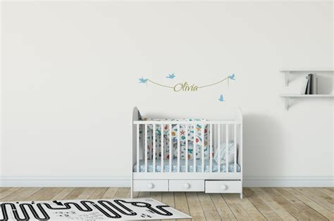 Name Wall Stickers For Bedrooms