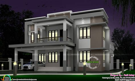 22 5 lakh cost estimated modern house kerala home design 35 lakhs cost estimated modern home kerala home design