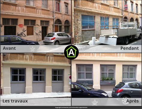 Facade Avant Apres by R 233 Novation D Appartement Prix Photos Avant Apr 232 S