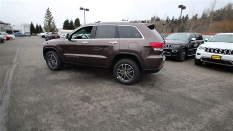 jeep grand cherokee brown 2017 jeep grand cherokee limited walnut brown hc742141
