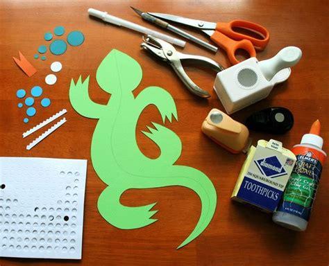 how to make a lizard out of 10 best ideas about lizard craft on desert