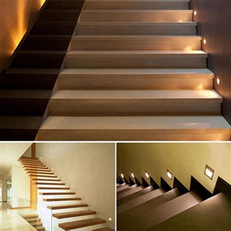 5pcs sale high quality stairs lights recessed led