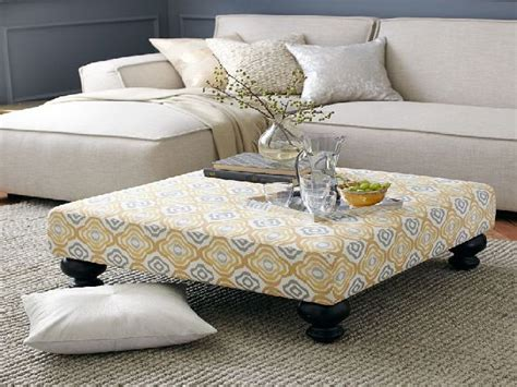 Upholstered Ottoman Coffee Table Upholstered Ottoman Coffee Table