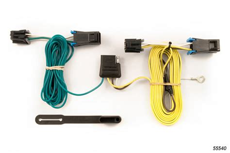 gmc van   wiring kit harness curt mfg  suspensionconnectioncom