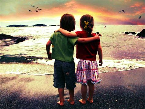 Best Friend Couple Wallpaper | little boy and girl friends forever couple new hd