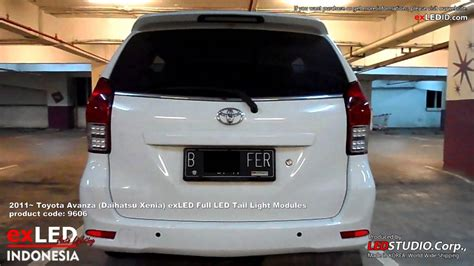 Lu Led Toyota Avanza 2011 toyota avanza daihatsu xenia exled led