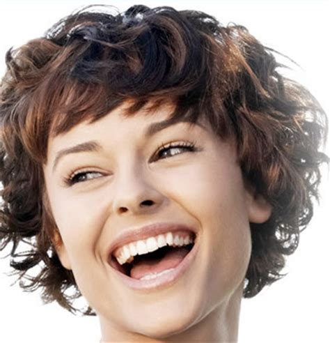 short hair styles you can wear curly or straigt wash and wear perm for fine hair pictures short hairstyle