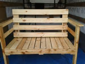 plans to make a bench outdoor seating bench made from pallets wood pallet