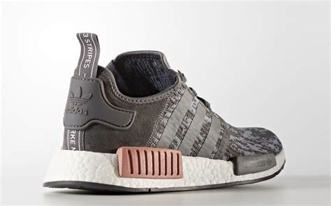 Adidas Nmd R1 Gray Pink Ua 1 adidas nmd r1 in grey and pink releases in september all snkrs